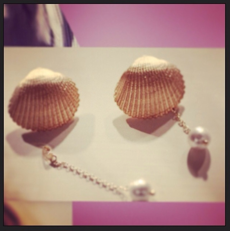 """天然石や和真珠のハンドメイドアクセサリー、 ダイパーケーキ""""Lien""""【リアン】デザイナー Rina's style"""