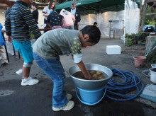 2014092728稲刈りツアー29夕飯作り