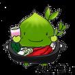 牛鍋✕宇治茶キャラク…