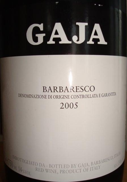 GAJA Barbaresco 2005