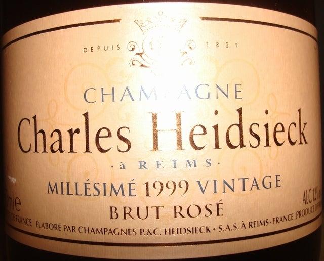 Charles Heidsieck Brut Rose 1999