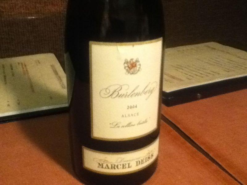 Burlouberg Alsace Marcel Deiss 2004