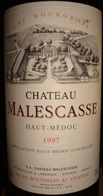 Chateau Malescasse 1997