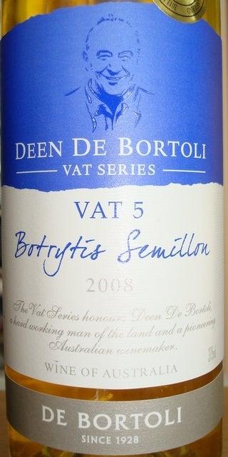 Vat 5 Botrytis Semillon Deen De Bortoli 2008