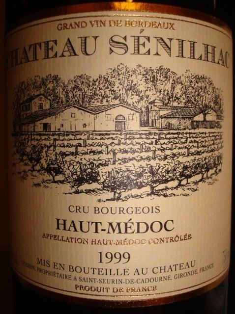 Chateau Senilhac 1999