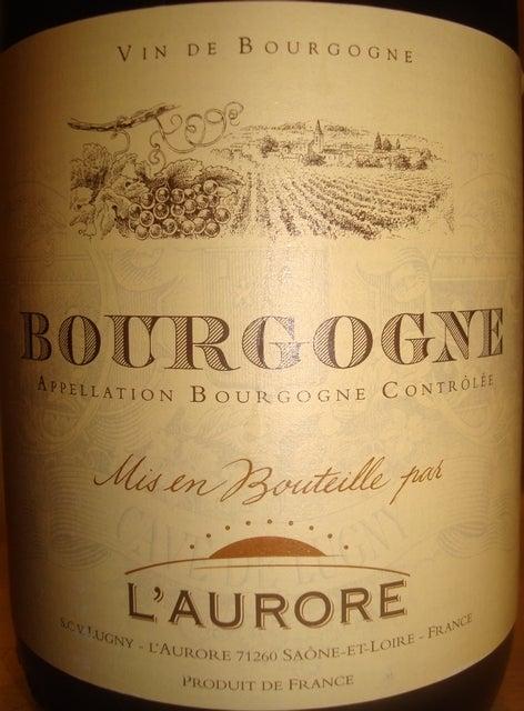 Bourgogne LAurore 2007