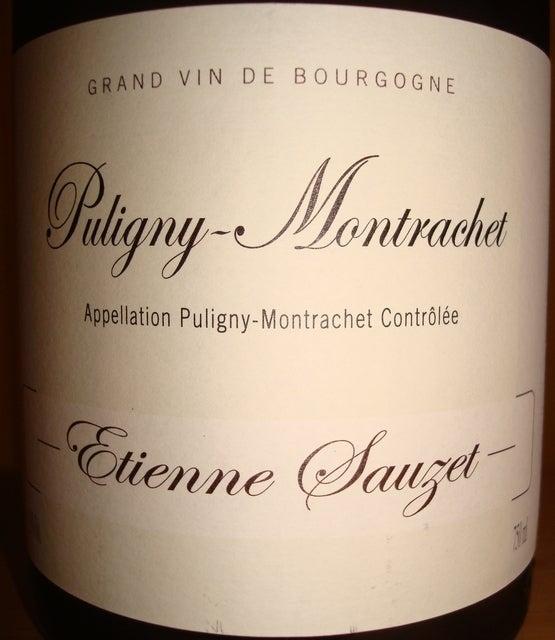 Puligny Montrachet Etienne Sauzet 2010