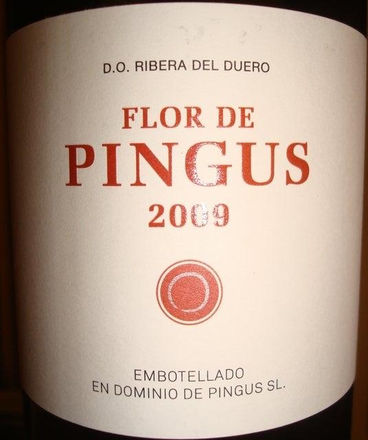 Flor de Pingus Dominio de Pingus 2009