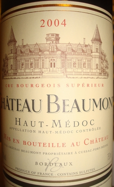 Chateau Beaumont 2004