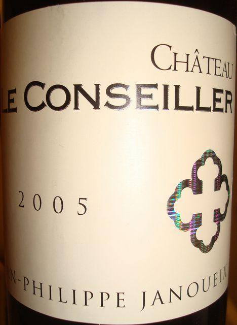 Chateau Le Conseiller 2005