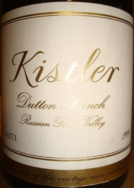 Kistler Chardonnay Dutton Ranch 1999