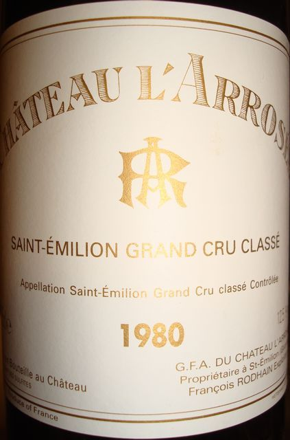 Ch Larrosee 1980