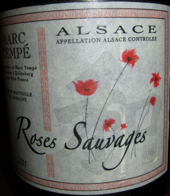 Roses Sauvages Alsace Marc Tempe 2011