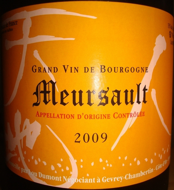 Meursault Lou Dumont 2009