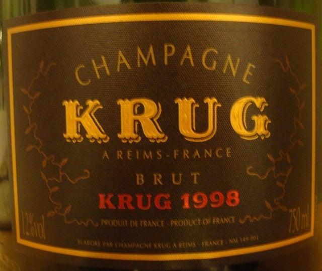 Krug Brut 1998
