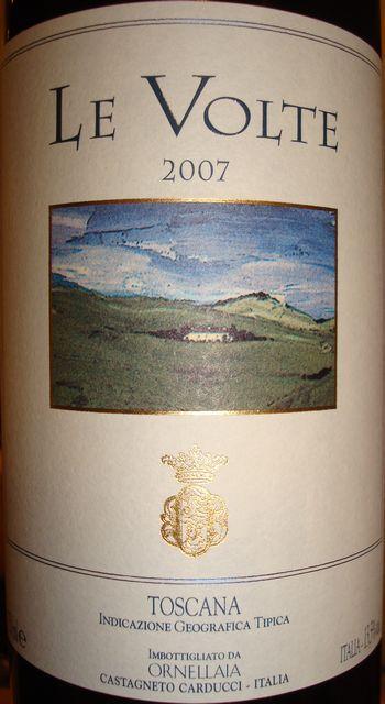 Le Volte Ornellaia 2007