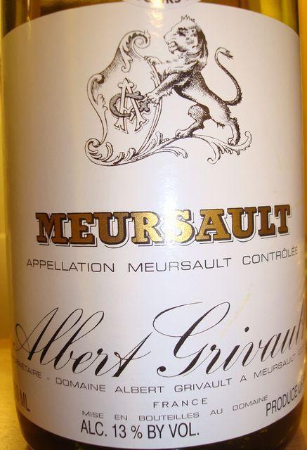 Meursault Albert Grivault 2008