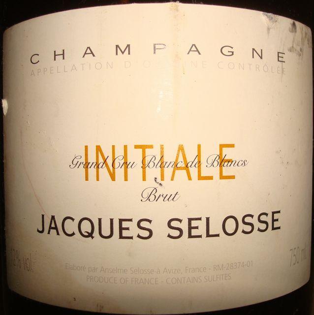 Jacques Selosse INITIALE