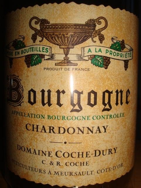Bourgogne Chardonnay Domaine Coche Dury 2009
