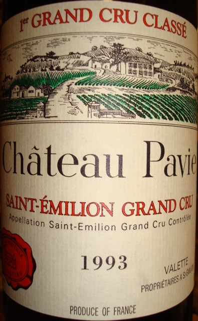 Chateau Pavie 1993