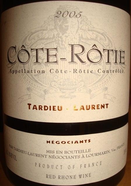Cote Rotie Tardieu Laurent 2005