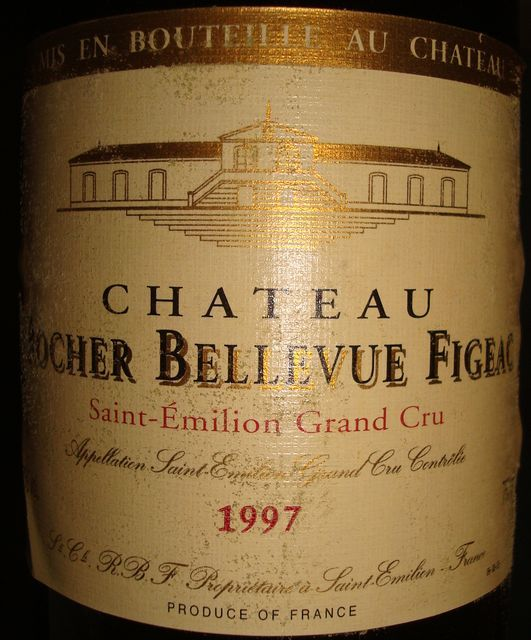 Chateau Rocher Bellevue Figeac 1997