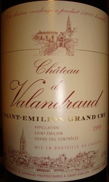 Chateau de Valandraud 1999
