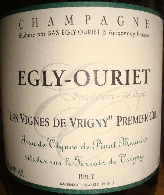 Egly Ouriet Les Vignes De Vrigny Premier Cru