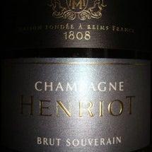 Champagne …