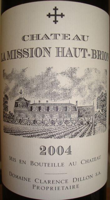 Chateau La Mission Haut Brion 2004
