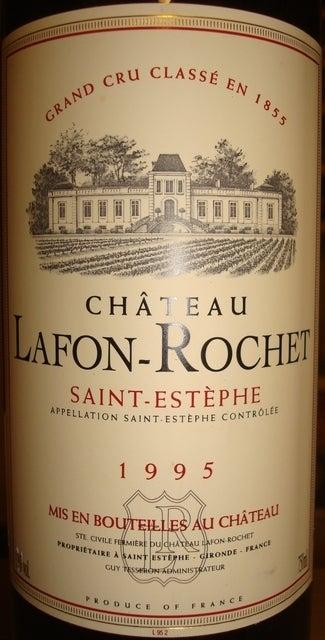 Chateau Lafon Rochet 1995