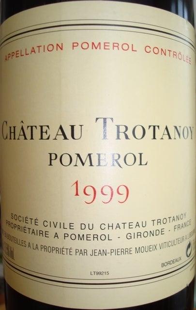 Chateau Trotanoy 1999