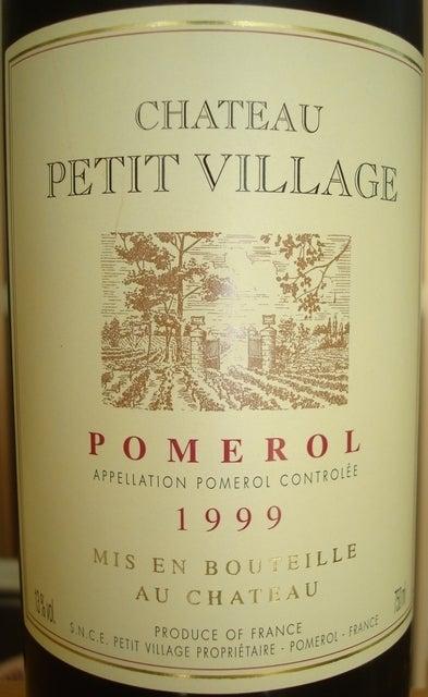 Chateau Petit Village 1999