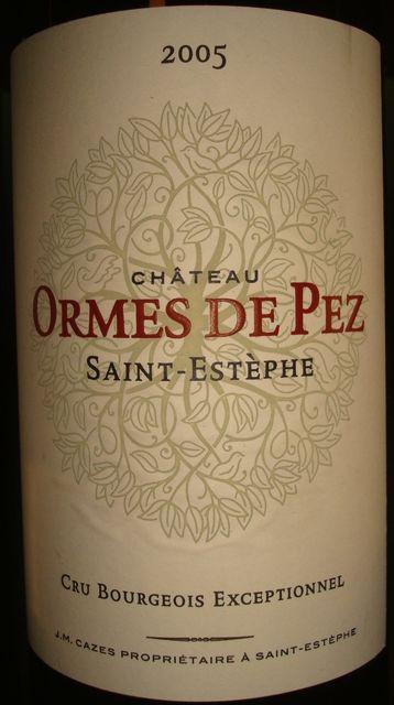 Chateau Ormes De Pez 2005