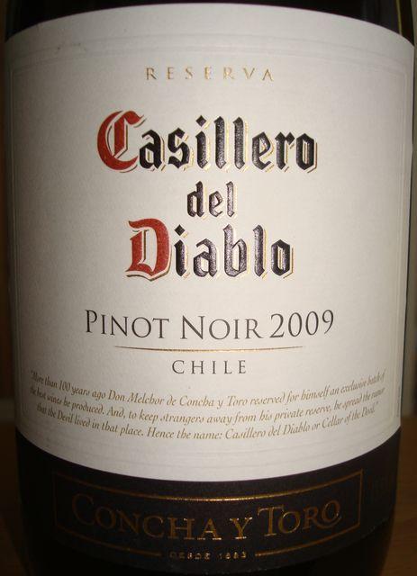 Casillero del Diablo Pinot Noir 2009