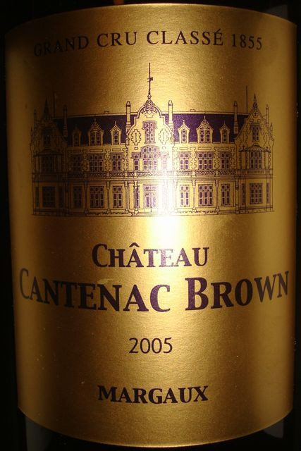 Chateau Cantenac Brown 2005