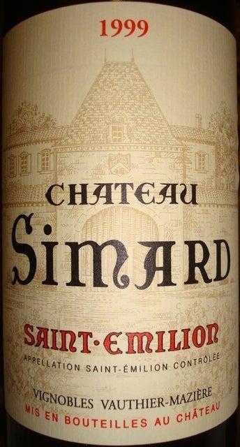 Chateau Simard 1999
