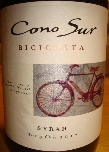 Cono Sur Bicicleta Syrah 2012
