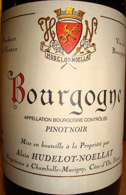 Bourgogne Pinot Noir Alain Hudelot Noellat 2007