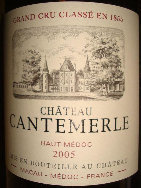 Chateau Cantemerle 2005