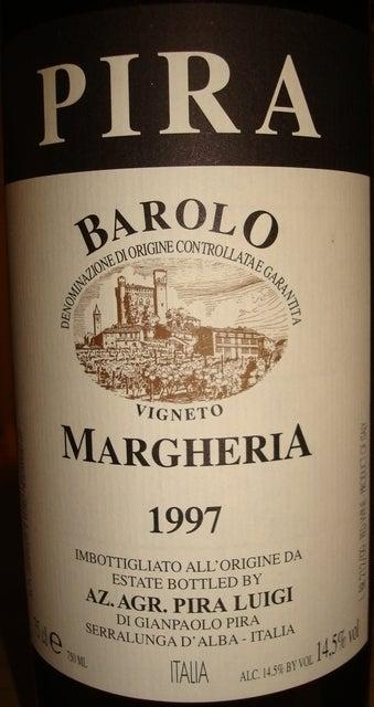 Luigi Pira Barolo Margheria 1997
