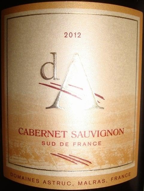Cabertent Sauvignon Domaines Astruc 2012
