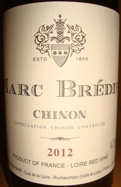 Marc Bredif Chinon 2012