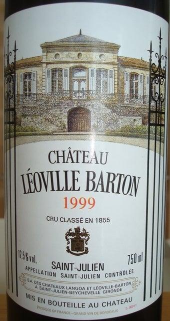 Chateau Leoville Barton 1999