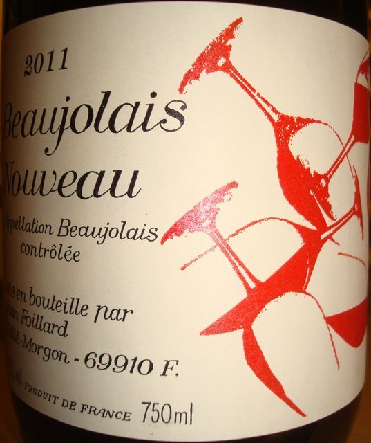 Beaujolais Nouveau Jean Foillard 2011