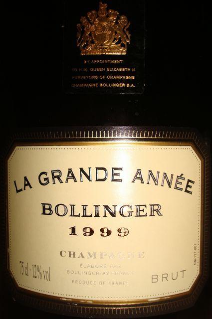 Bollinger La Grande Annee 1999