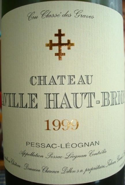 Chateau Laville Haut Brion 1999