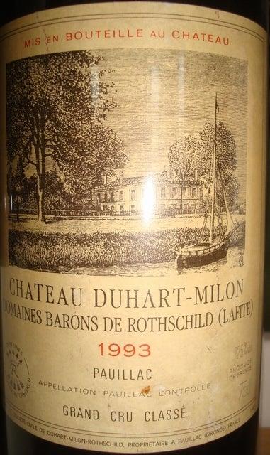 Chateau Duhart Milon 1993