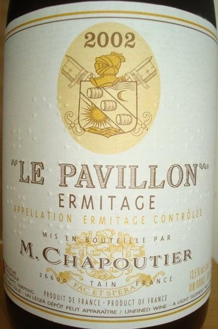 Ermitage Le Pavillon M Chapoutier 2002