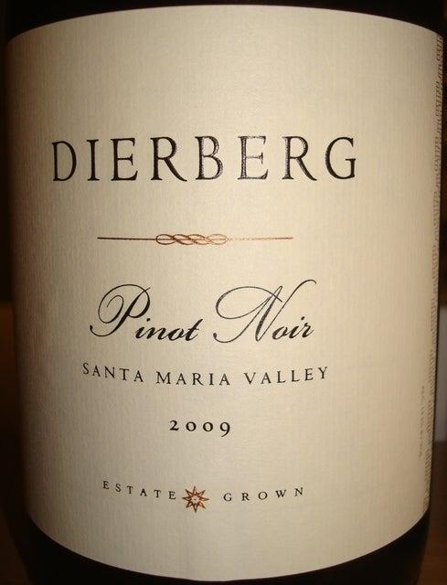 Dierberg Pinot Noir Santa Maria Valley 2009